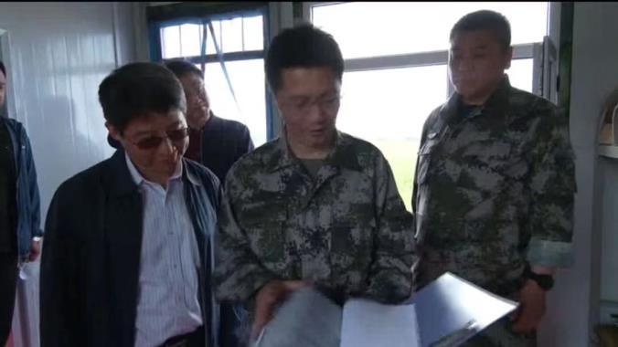 國(guo)家防汛(xun)工作檢查組到我市檢查防汛(xun)工作